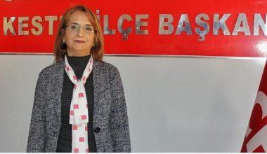CHP Kestel İlçe Başkanı Doğan Dünya Kadınlar Günü Açıklaması