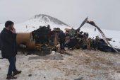 Bitlis'te askeri helikopter düştü: 9 şehit, 4 asker yaralı