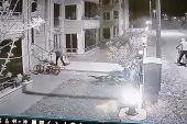 Bursa'da Bisiklet Hırsızlığı Kamerada