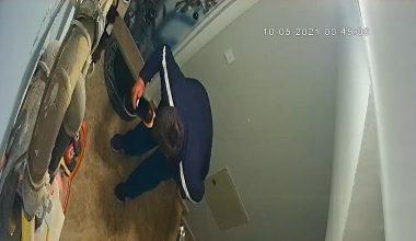 Kestel'deki Ayakkabı Hırsızı Kamerada