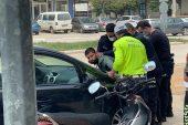 Kısıtlamada 'Dur' İhtarına Uymadı, Polisin Üzerine Sürünce Böyle Etkisiz Hale Getirildi