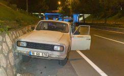 Kısıtlamada Boş Yolda Duvara Çarpan Sürücü İle Polis Arasında İlginç Diyalog