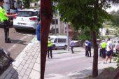 Kestel'deki Kazada Motokurye Yaralandı