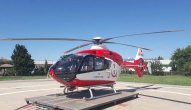 Ambulans Helikopter Acil Hastalara Hızır Gibi Yetişiyor
