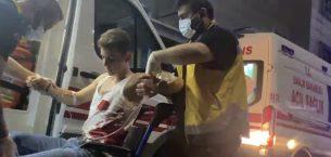 Alacak verecek meselesinde baba oğul tornavida ile yaralandı