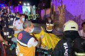 3 küçük kız kardeş müstakil evde çıkan yangında hayatını kaybetti