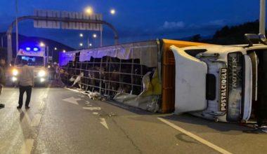 Kestel'de feci kaza: 1 ölü, 1'i bebek 2 ağır yaralı