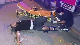 Otomobilden açılan ateşle yaralandı, yanındaki çöp kutusunda uyuşturucu bulundu