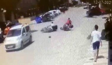 Bursa'da 2 motosiklet çarpıştı: 1 yaralı