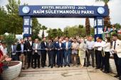 Kestel'de Naim Süleymanoğlu Parkı Hizmete Açıldı