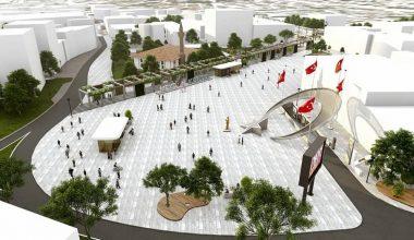 'Meydan Kestel' projesinde çalışmalar tüm hızıyla sürüyor