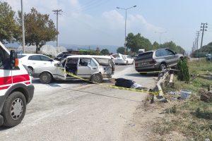 Kestel'deki trafik kazasında 1 kişi öldü, 2 kişi yaralandı