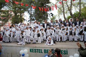 Kestel Belediyesi'nden Coşkulu Sünnet Şöleni
