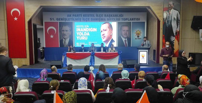 AK Parti Kestel İlçe Danışma Meclisi Toplantısı Yapıldı