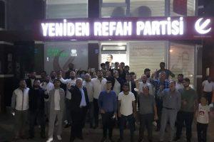 Kestel'de Çeşitli Partilerden İstifa Eden 50 Kişi Yeniden Refah'a Katıldı
