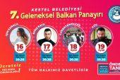 Kestel Belediyesi'nden Balkan Panayırı: Dünyaca Ünlü Sanatçı Azis Sahne Alacak
