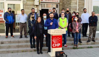 Kestel CHP Gençlik Kolları 'Uyuşturucuya Hayır' dedi