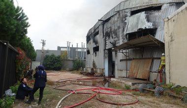 Kestel'de tekstil fabrikasındaki büyük yangın 3 saatin sonunda kontrol altına alındı