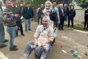 Bursa'da düğün öncesi damada yapılanlar şaşkına çevirdi