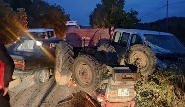 Kestel'de zincirleme kaza: 3 yaralı
